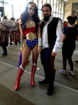 Wonder Woman and Hairy Han by JUMBOLA