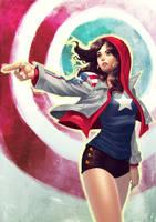 Miss America Chavez by elaszer