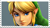 Hyrule Warriors: Link  Stamp by DIIA-Starlight