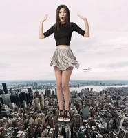 Victoria Justice A by RedCoffee1