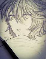 Mikaela (Sketch) by AtelierAni