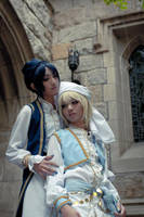 Trinity Blood: Ion and Radu by arisatou