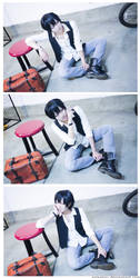 Yowamushi Pedal: Arakita Fashion Spread by arisatou
