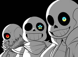 Bad Time Trio by MarlArtsCE