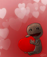 Sackboy Love by Zapkiller