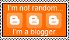 Random Blogger Stamp by Mcingake