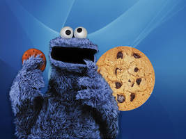 Cookie monster.....8D by langstein123