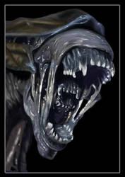 Queen Alien by visualmirage