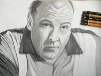 Tony Soprano by meneiyos