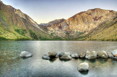 Waking Up at Convict Lake by shubat