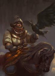eagle man by 0BO