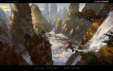 [IronMan3]_redsteam_CA_enviro_China-mountains by 0BO