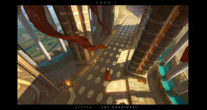 [THOR2] redsteam 2d enviro The interior of Asg by 0BO