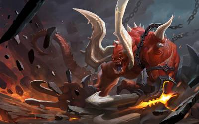 red monster by 0BO