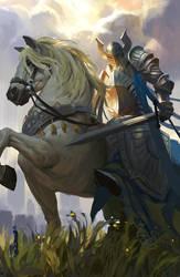 white knight by 0BO