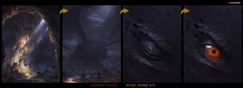 [Dragon-Slayer] redsteam 2D cinematic Board3-4 fin by 0BO