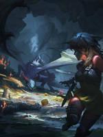 [Dragon-Slayer] redsteam 2D cinematic Board5 Final by 0BO