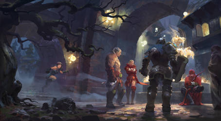[Dragon-Slayer] redsteam 2D cinematic Board6 final by 0BO