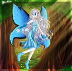 Yulia the beautiful butterfly by zaameen