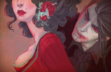Cherry Lips by UlaFish