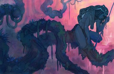 Tarzan of the Apes by UlaFish