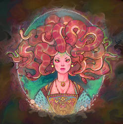 Medusa by UlaFish