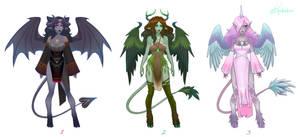 Adoptable Set- Planar Guardians [ClOSED] by UlaFish