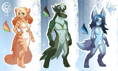 Anthro Adopt Auction [CLOSED] by UlaFish