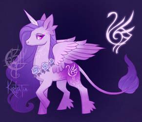 [OPEN] Sigil Keeper Pony Adopt #1- Grace by UlaFish