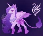 [CLOSED] Sigil Keeper Pony Adopt #1- Grace by UlaFish