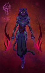 Magi-tech Assassin by UlaFish
