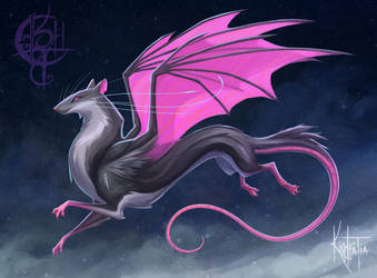 Stormchaser- Majestic Rat Dragon Adopt [Open] by UlaFish
