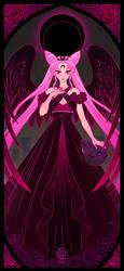Dark Moon Princess Lady Serenity by UlaFish