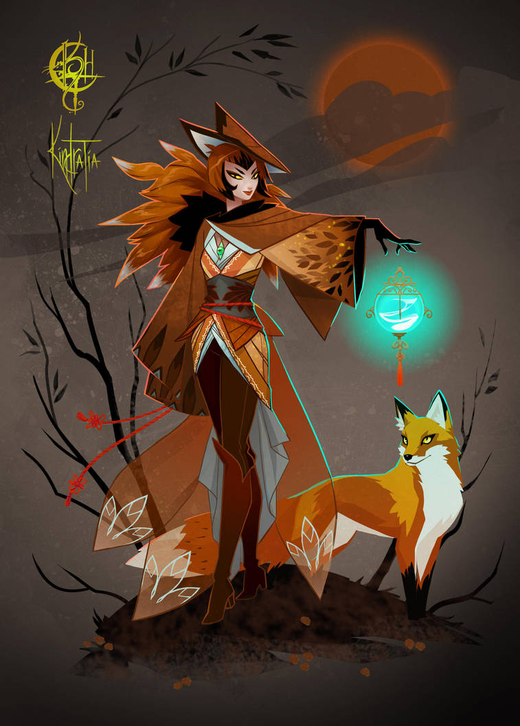 Fox Witch Adopt [CLOSED] by UlaFish