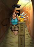 Lara Croft: Tomb Raider by blondesquirrel