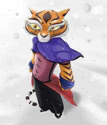 Tigress - White Out by Purpleground02