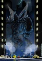 Godzilla 1998 by Purpleground02