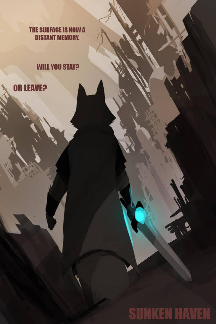 [Sunken Haven] Poster concept by Purpleground02
