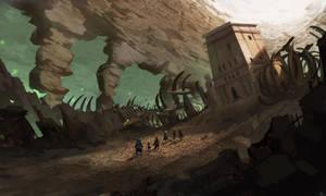 [SUNKEN HAVEN] Boneyard by Purpleground02