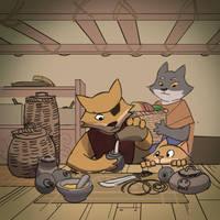 Tinkering by Purpleground02