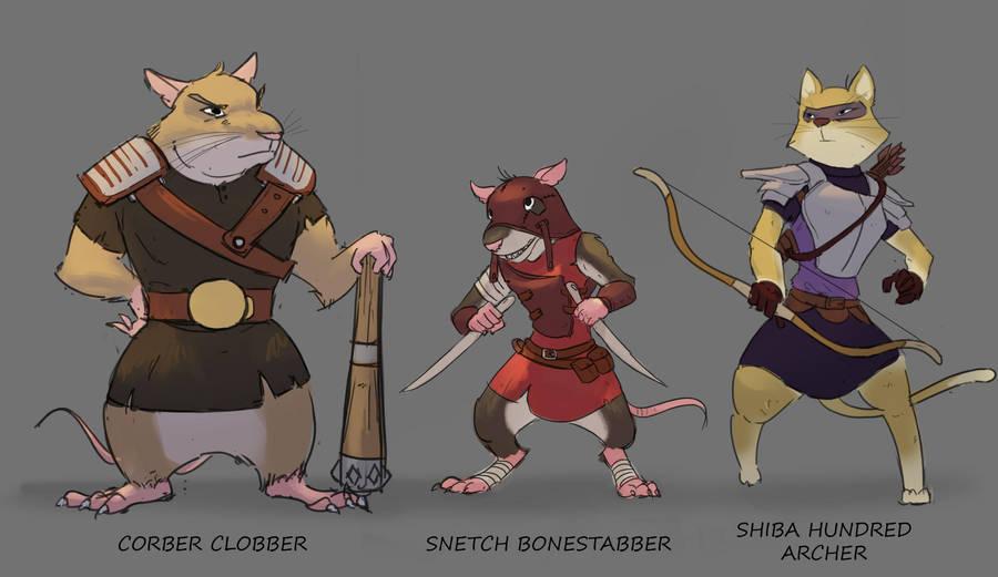 Character Design by Purpleground02