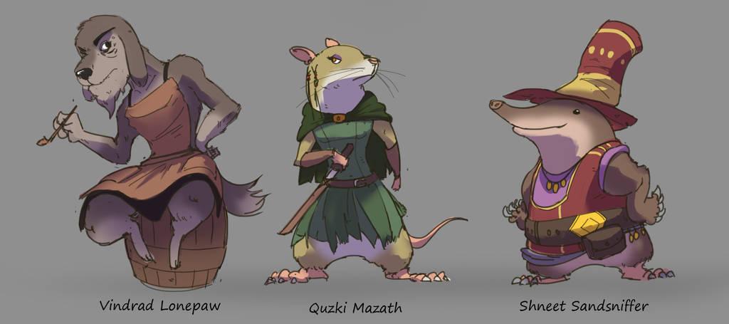 Character Design 2 by Purpleground02