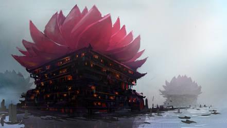 Lily Market by Purpleground02