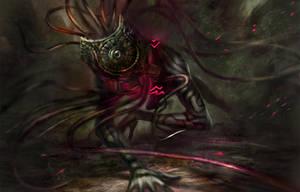Shadow Beast by Junedays