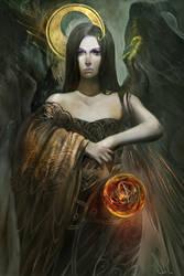 Balmoria the Diviner by Junedays