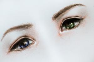 Final Fantasy - Yuna's Eyes by Kipichuu