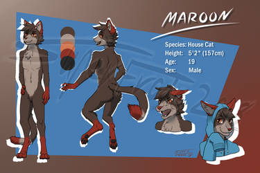 Ref sheet commission for Maroon by SuperFrodo95
