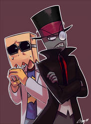 BLACK HAT and DR FLUG by citgepolol