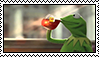Kermit the frog stamp by HANNAHCRACKanEGG