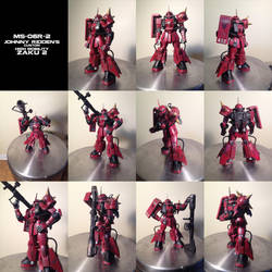 Johnny Ridden's Zaku - Repainted by megamike75